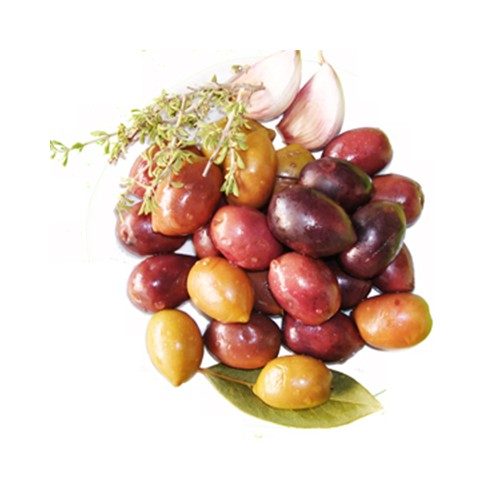 Purple Olives Special 1 Kg