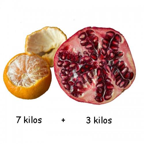 Mandarina y Granadas 10 kilos