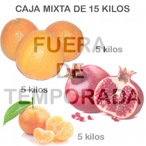 Mixed orange, Tangerines and Pomegranates 15 Kg