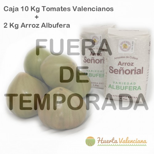 Tomate Valenciano 10 Kilos