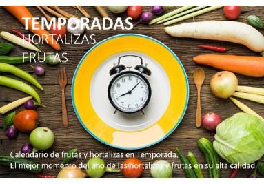 CALENDRIER DES SAISONS DE LÉGUMES ET FRUITS